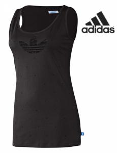 Adidas® Cavada Rhinestone Preto   100% Algodão