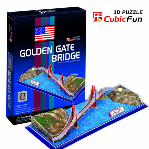Puzzle Golden Gate Bridge 3D