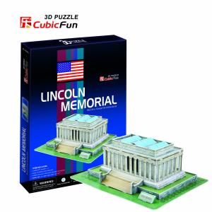 Puzzle Lincoln Memorial 3D