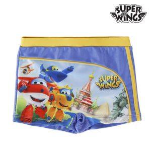 Calções de Banho Boxer Super Wings | 2 aos 6 Anos | Produto Licenciado