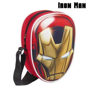 Mochila Pequena 3D Iron Man | Avengers | Produto Licenciado