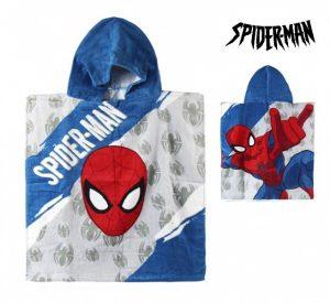 Poncho-Toalha com Capuz Spiderman | Produto Licenciado