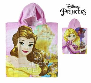 Poncho-Towel with Hood The Beauty and the Monster