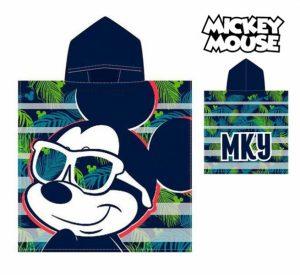 Poncho-Toalha com Capuz Mickey | Produto Licenciado