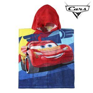 Poncho-Toalha com Capuz Cars | Produto Licenciado