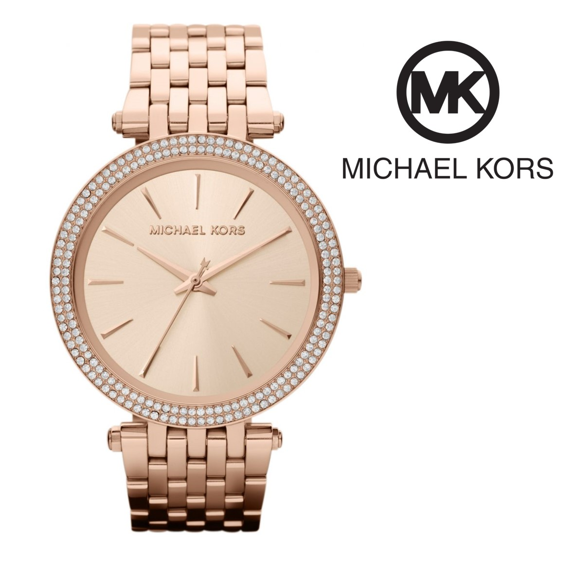 Relógio Michael Kors® Darci Rose Gold I 5ATM - You Like It b5f14ddc48