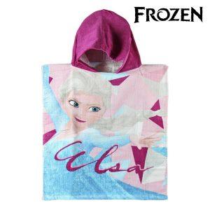Poncho-Toalha com Capuz Frozen | Produto Licenciado