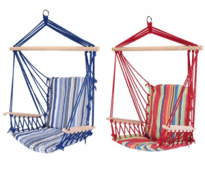 Relaxing Suspension Chair | 2 Colors | Blue or Multicolor!