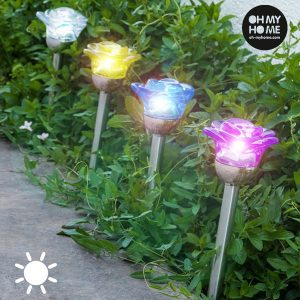Candeeiro Solar Flower | My Home !
