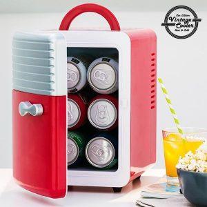 Frigobar Retro Vintage Cooler | Capacidade 5 Litros!