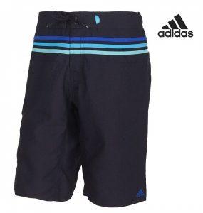 Adidas® Calções De Banho Iconic 3 Stripes Pretos