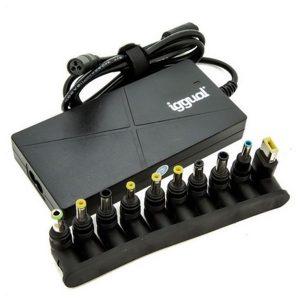 Carregador para Notebooks Iggual IGG314357 90W Slim USB | 10 Peças