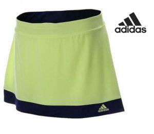 Adidas® Saia Calção Galaxy Amarelo Fluorescente | Tecnologia Climalite®