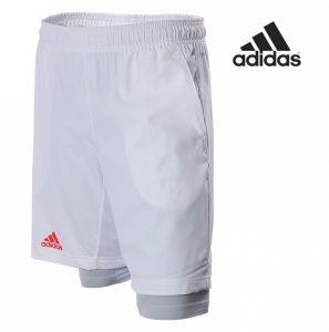 Adidas® Calções 2 em 1 Brancos | Tecnologia Climacool®