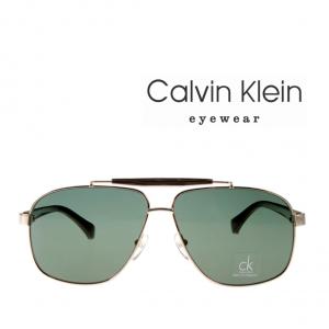 Calvin Klein® Óculos Sol Platinum Aviador Gold | Green