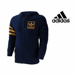 Adidas® Casaco | Azul Escuro