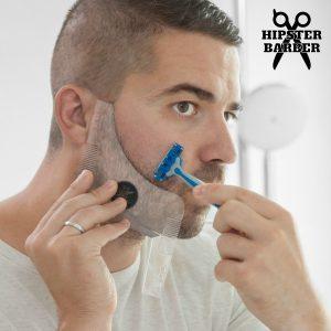 Molde de Barba com Pentes para Barbear Beard Template