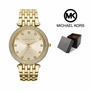 Relógio Michael Kors® Darci Gold Tone Glitz Dial | 5ATM