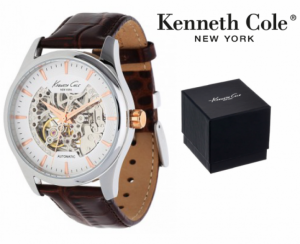 Relógio Kenneth Cole® New York Automatic Collection | Castanho | 3ATM