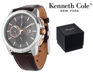 Relógio Kenneth Cole® New York | Castanho | 5ATM