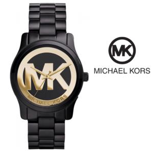 Relógio Michael Kors® Runway Black & Gold Dial | 3ATM
