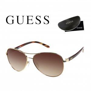 Guess® Óculos de Sol GUF235 GLD-34A | Dourado