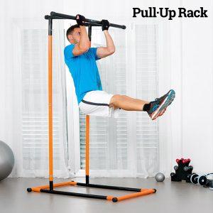 Estação de Elevações e Fitness com Guia de Exercícios Pull·up Rack