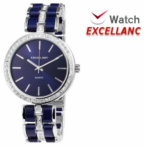 Relógio Excellanc Senhora | Prateado e Azul