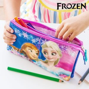 Estojo Escolar 3D Frozen
