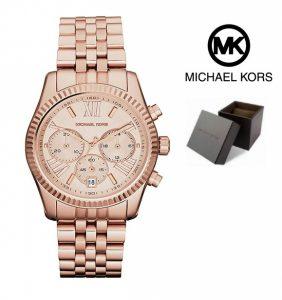 Relógio Michael Kors® Lexington Rose Gold | Cronógrafo | 5ATM