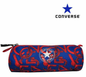 Converse® Estojo Converse Cilindríco | Azul | Vermelho