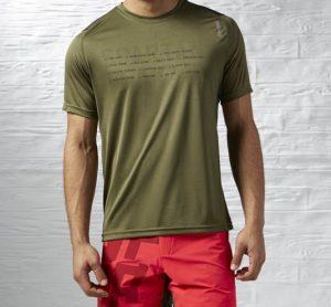 Reebok® T-Shirt Spartan Race | Verde Tropa