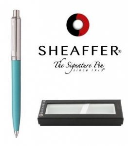 Esferográfica Sheaffer® Sentinel Blue/Chrom
