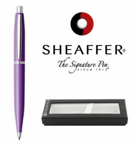 Esferográfica Sheaffer® Vfm White Dot