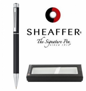 Esferográfica Sheaffer® 200 Black/Chrom