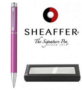 Esferográfica Sheaffer® 200 Pink/Chrom