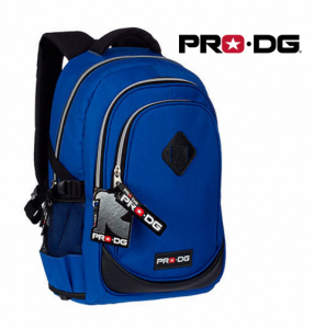 Pro DG® | Mochila Azul | Preto 44cm