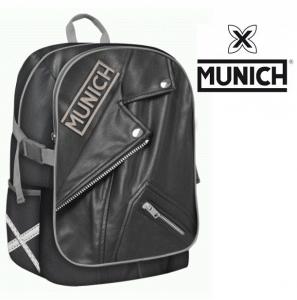 Munich® Mochila Preta Bikers 43cm