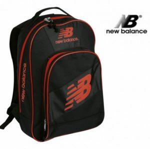 New Balance® Mochila Contraste Preta 42cm