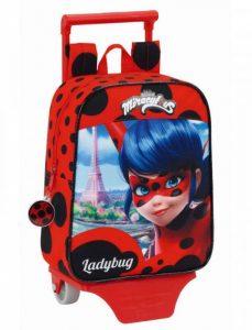 Trolley Miraculous Ladybug 27cm | Produto Licenciado