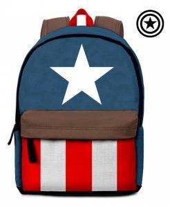 Capitão América® Mochila Marvel 42cm | Produto Licenciado