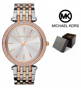 Relógio Michael Kors® Darci Silver | Gold & Rose Gold | 5ATM