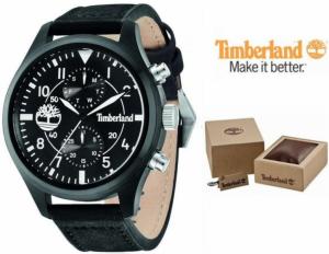 Relógio Timberland® Madbury | Bracelete Couro | 3ATM