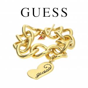 Guess® Pulseira Guess | Dourado com Pormenor Vermelho