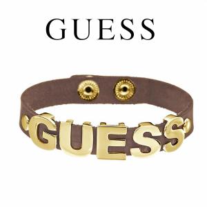 Guess® Pulseira Couro GUESS | Dourado
