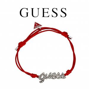 Guess® Pulseira Cordão Vermelho | Guess