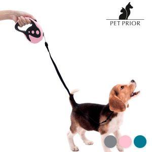Trela Extensível para Cães Pet Prior | 2 Cores | 5 MT