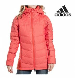 Adidas® Casaco Terrex Com Carapuço Enchimento 100% Penas   Isolamento Climaheat®