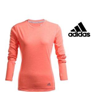 Adidas® SweatShirt Running Orange | Climalite®