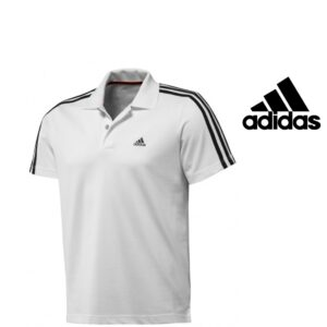 Adidas® Polo Essencials 3S Branco | Tecnologia Climalite®